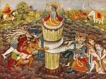 Churning of the Ocean ~ Hindu Mythology