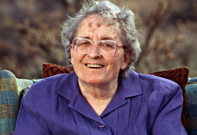 Elisabeth Kubler-Ross at Arizona House, 2001, Editorial use only, No Tabs